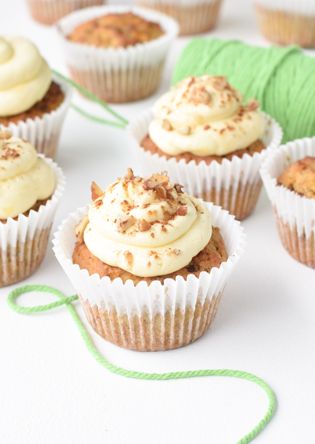 Low carb Carrot Cake Muffins