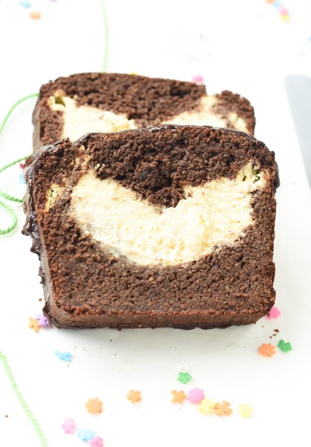 Low carb chocolate pound cake