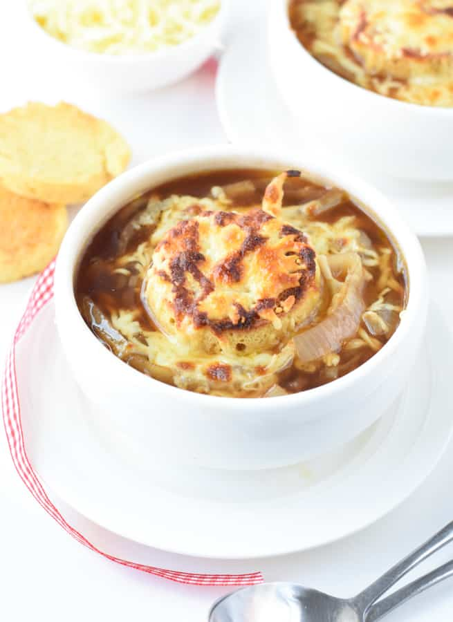 Low-carb French onion soup