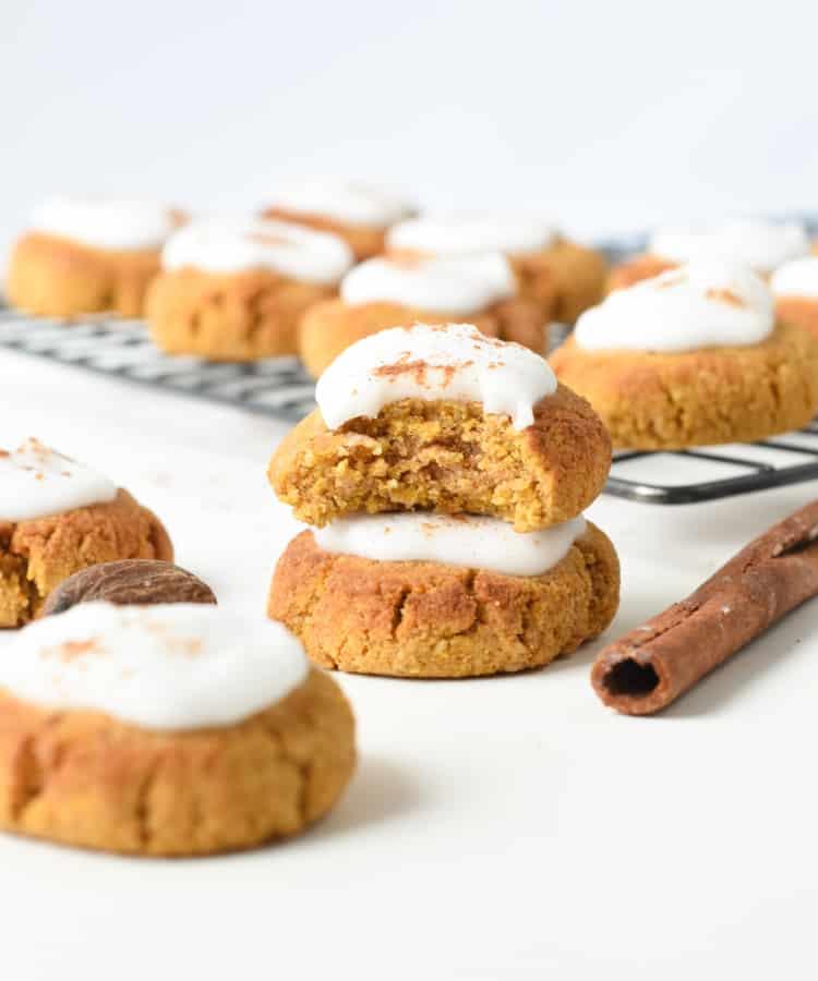 Low carb pumpkin cookies