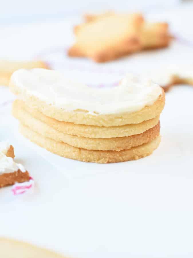 Low carb sugar cookie