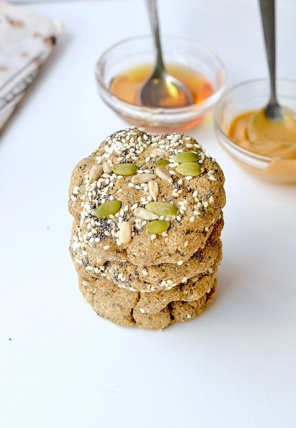 Microwave keto bread - Vegan + Paleo - Sweetashoney
