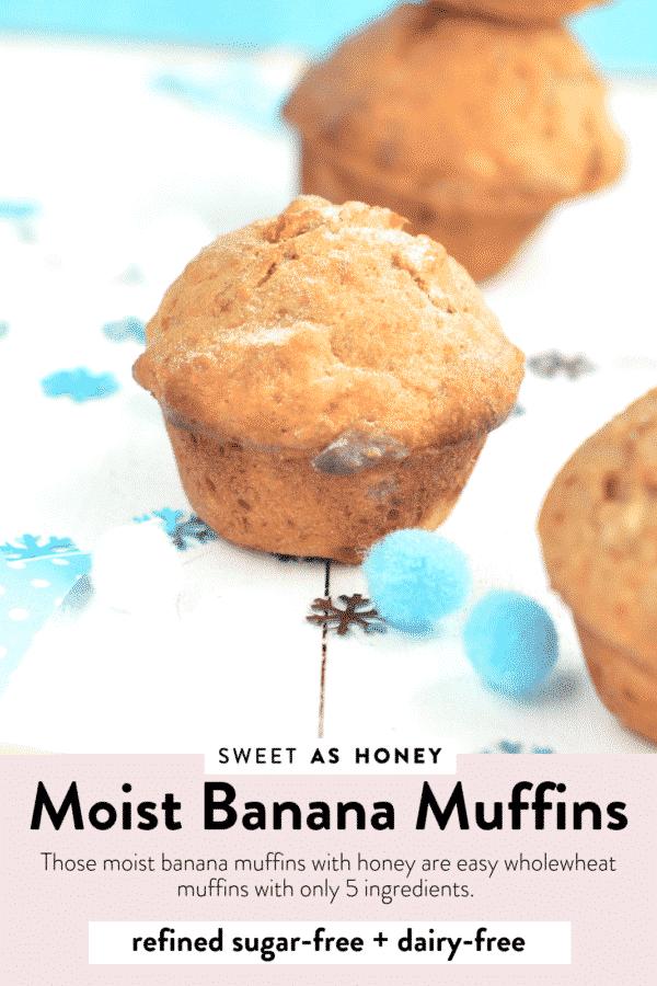 Easy Healthy Banana Muffins