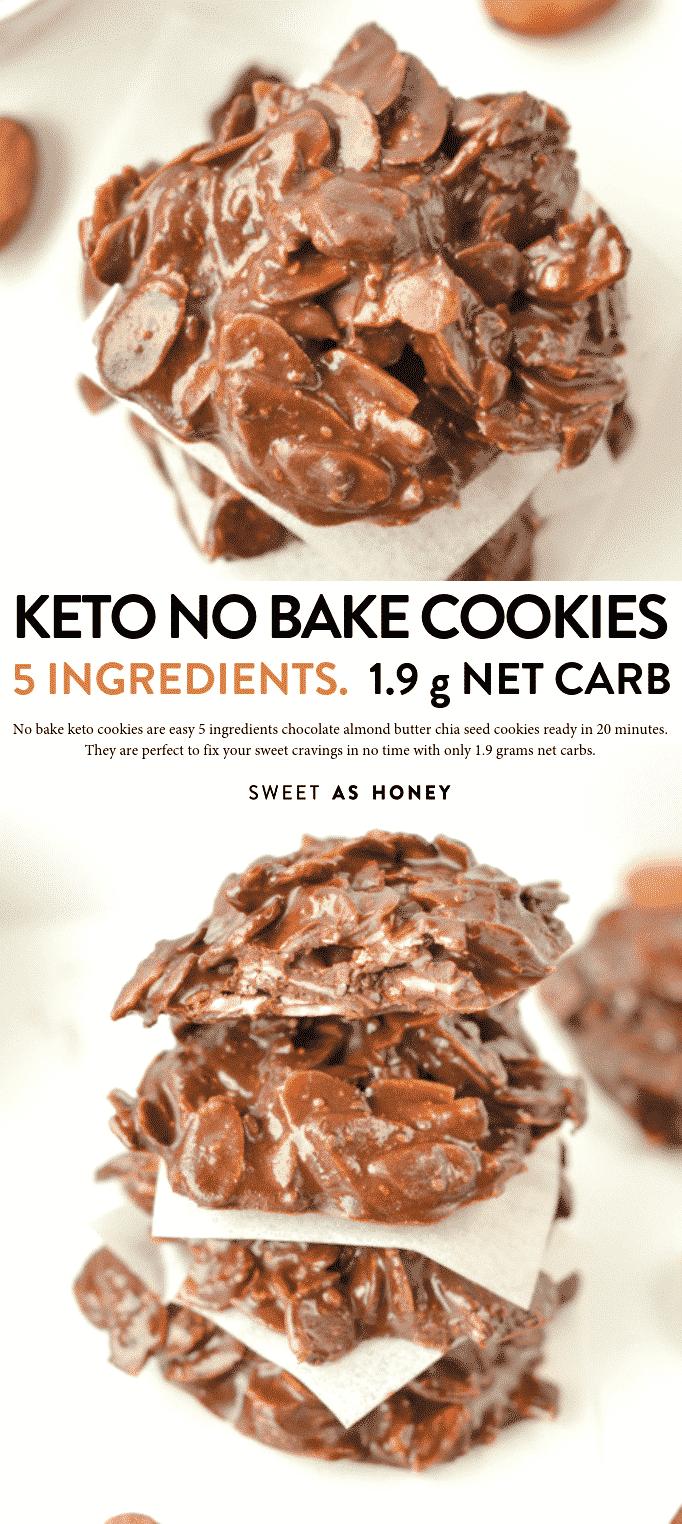No bake keto cookies