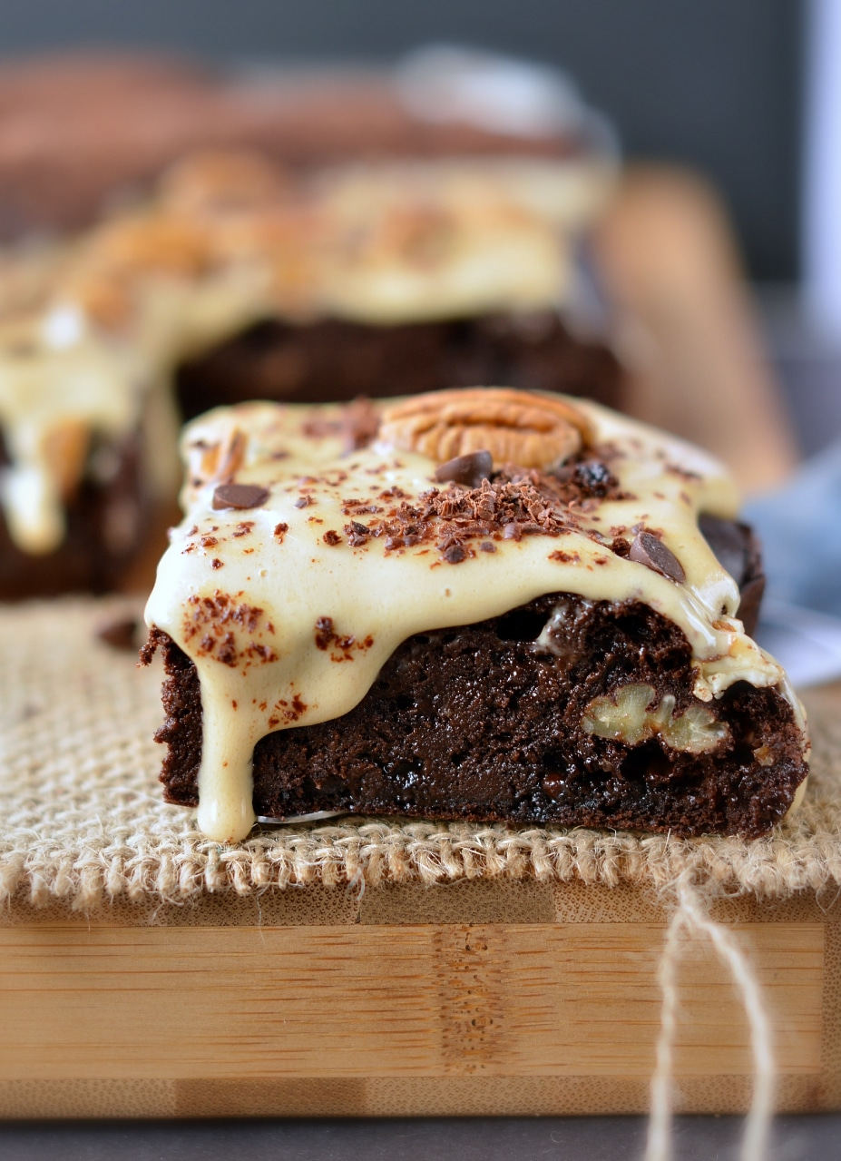 Chocolate Cake With Cocoa Nibs