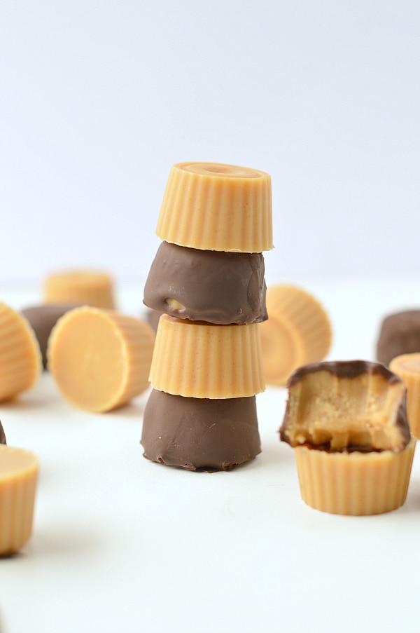 Peanut butter fat bombs keto vegan