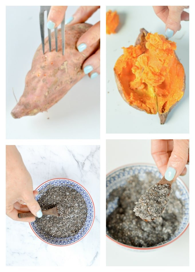 Sweet potato brownies paleo