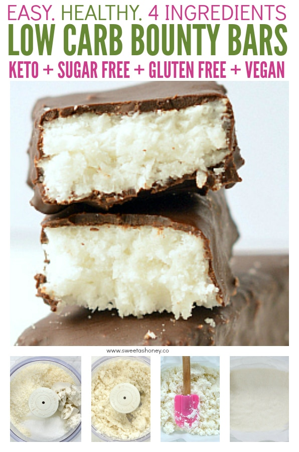 low carb bounty bars