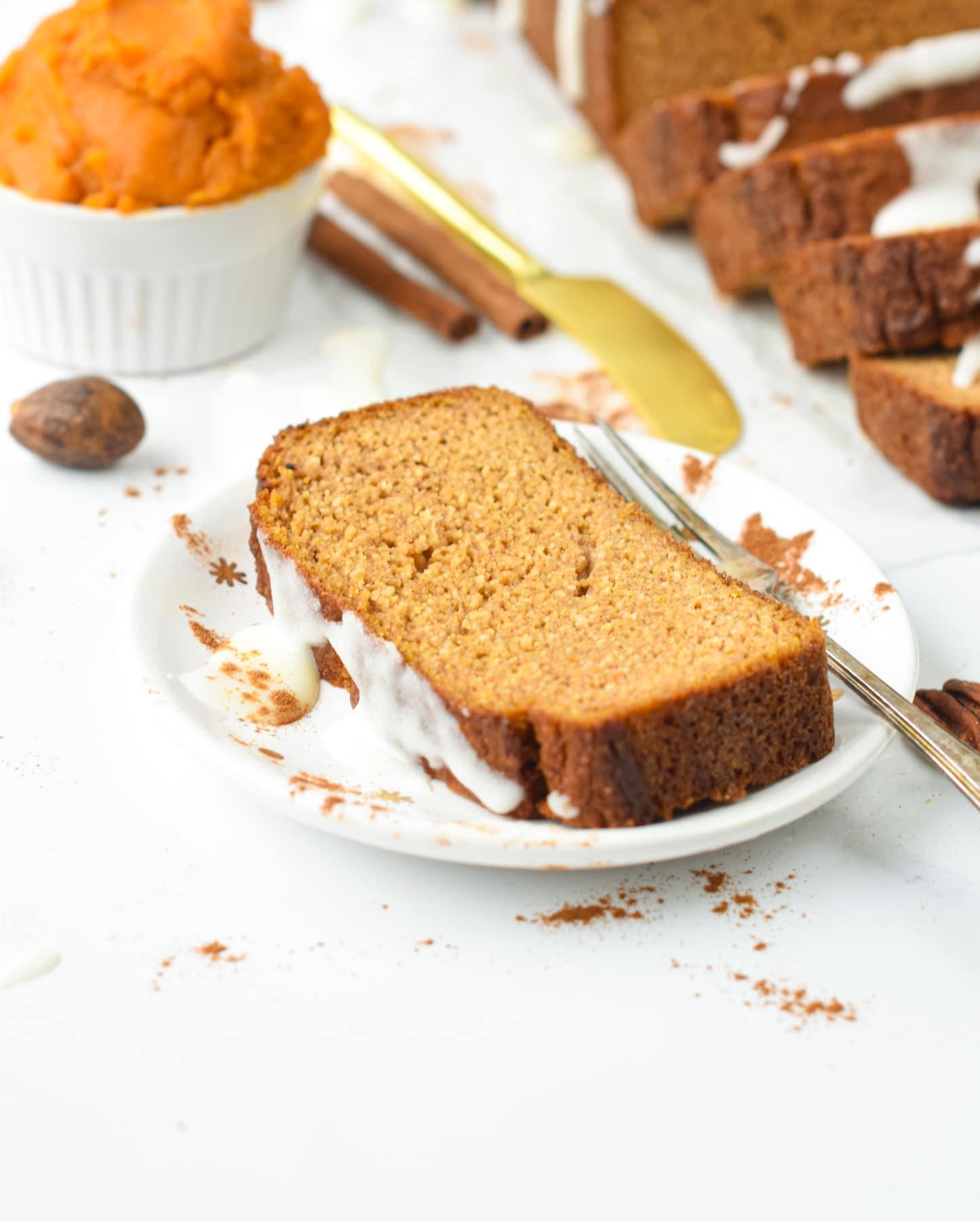 Pumpkin Bread with Almond Flour Recipe