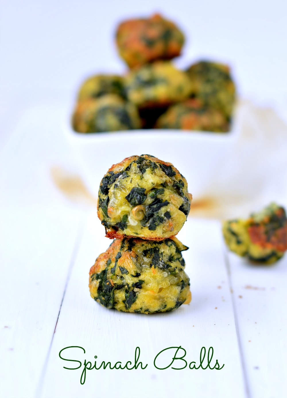 Spinach balls easy appetizer