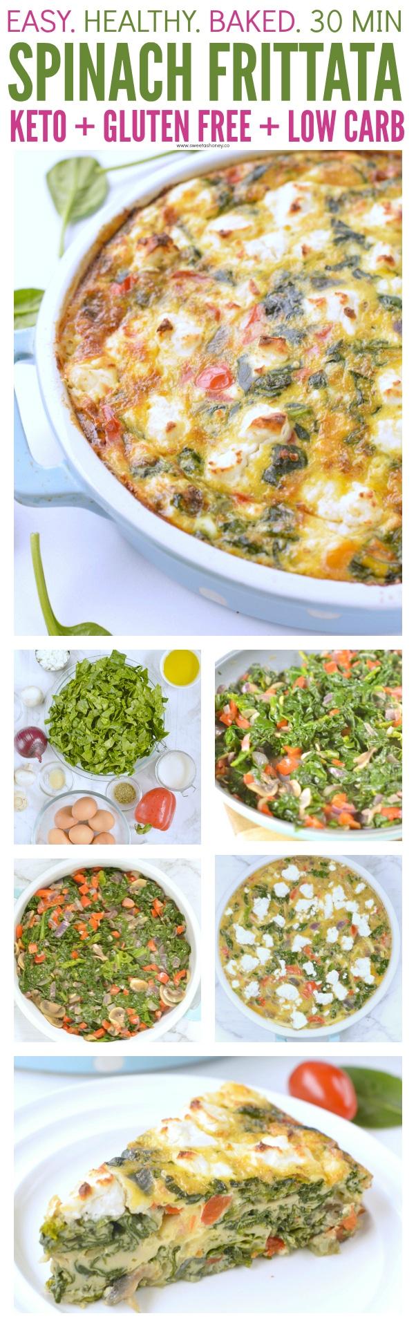 spinach frittata feta
