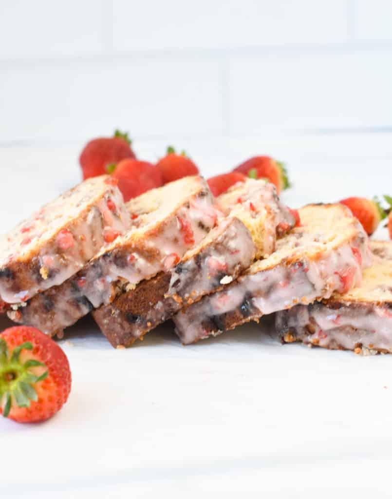 Strawberry Keto Bread