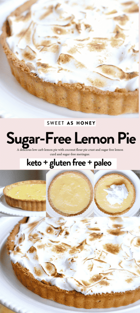 Sugar free lemon pie Keto