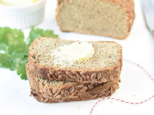Sunflower Seed Flour Keto Bread