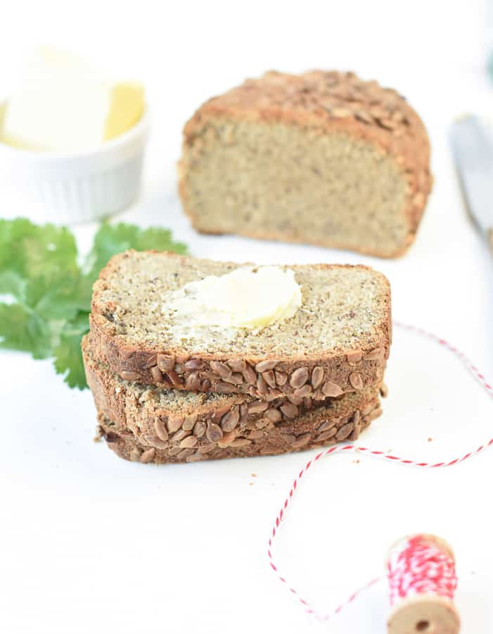 Sunflower Seed Flour Keto Bread