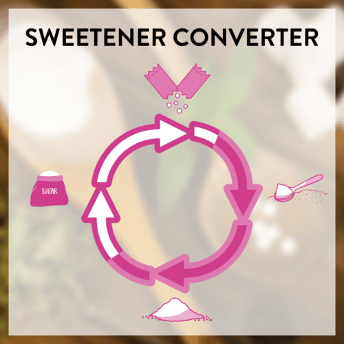 Sweetener Converter