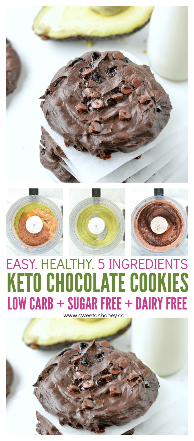 THE BEST KETO CHOCOLATE COOKIES