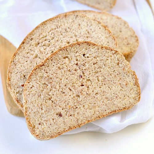 THE BEST KETO BREAD LOAF