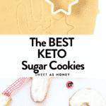 Keto Sugar free sugar cookies