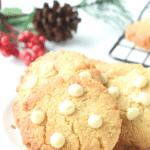 keto white chocolate chip cookies