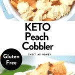 keto peach cobbler recipe