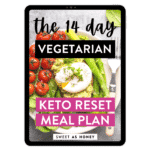 The 14-day Vegetarian Keto Reset Meal Plan – Tablet