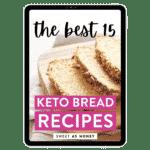 The BEST Keto Bread – Tablet