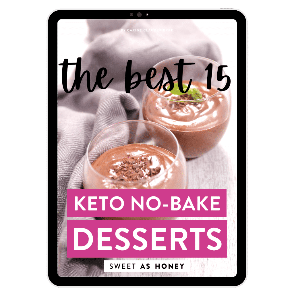 The BEST Keto NoBakeDesserts - Tablet