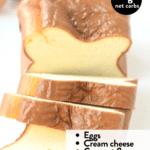 The BEST keto egg loaf