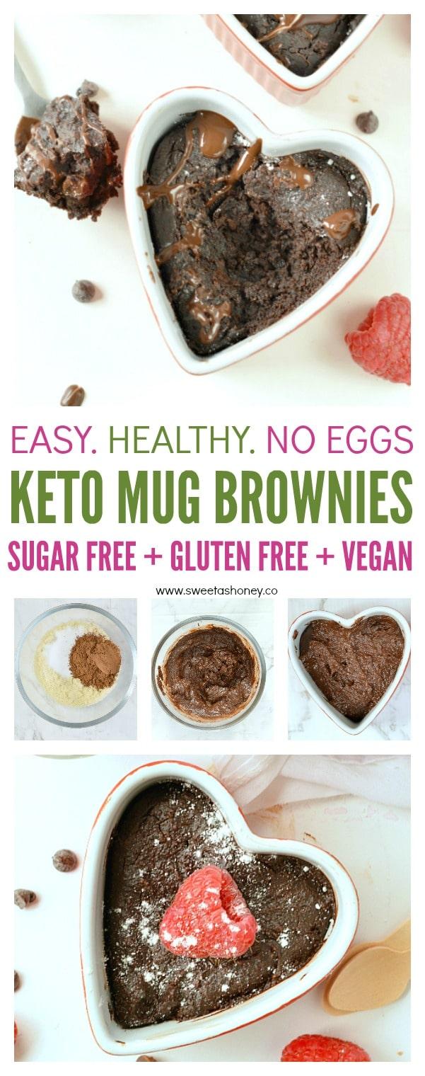 The Best Keto Mug Brownies