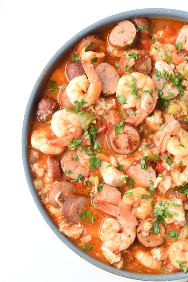 The best Keto Jambalaya recipe