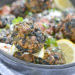 Turkey spinach meatballs