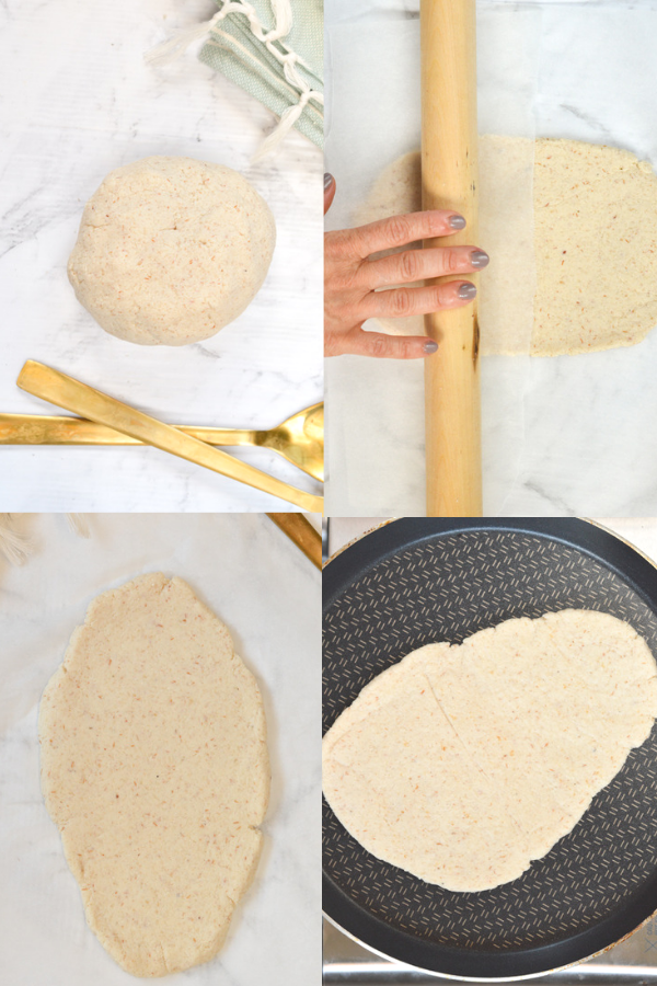 How to make keto naan bread?