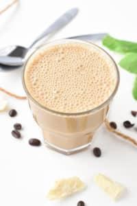 vegan bulletproof coffee with MCT oil
