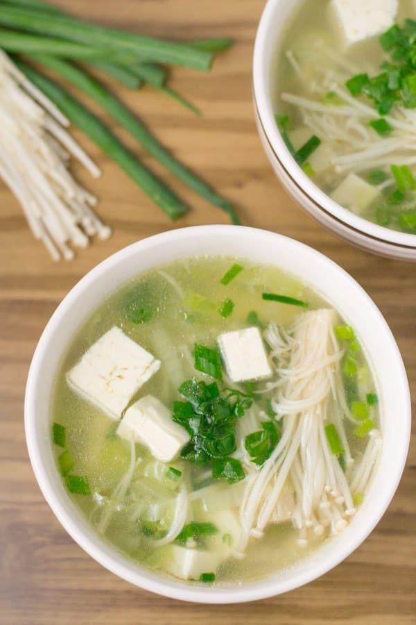 vegetable-tofu-soup