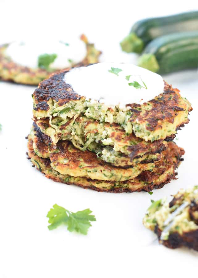 Zucchini Fritters Healthy
