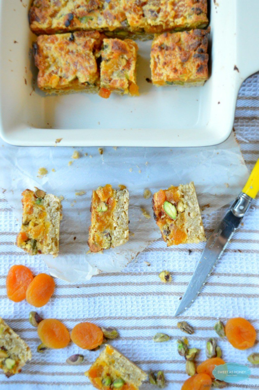 Apricot-Fig-Pistachio Bars Recipes — Dishmaps