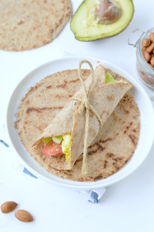almond flour tortillas keto vegan