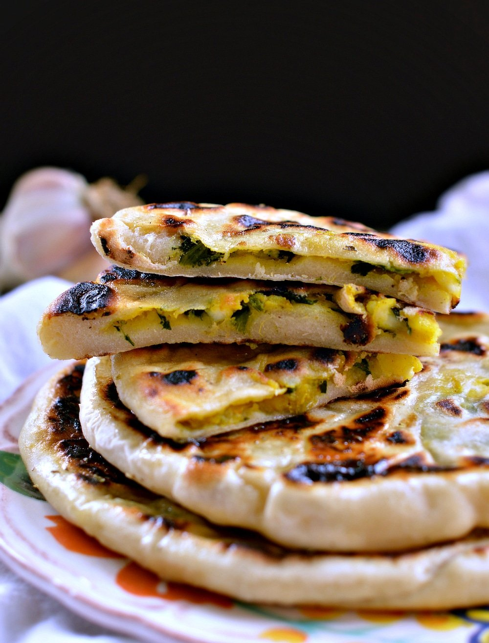 Aloo Paratha (Indian Potato Bread) Recipe — Dishmaps
