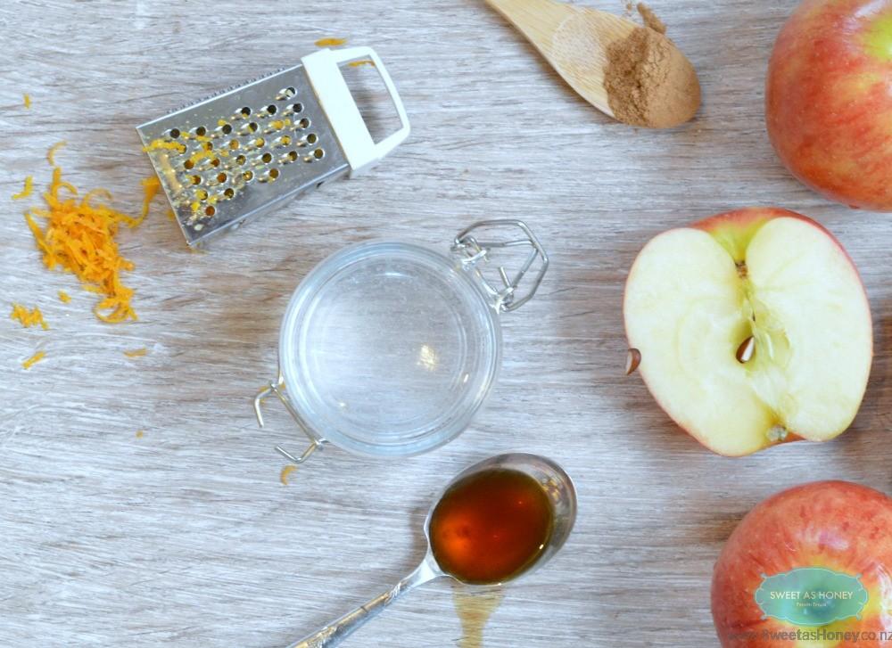 apple crumble sugar free