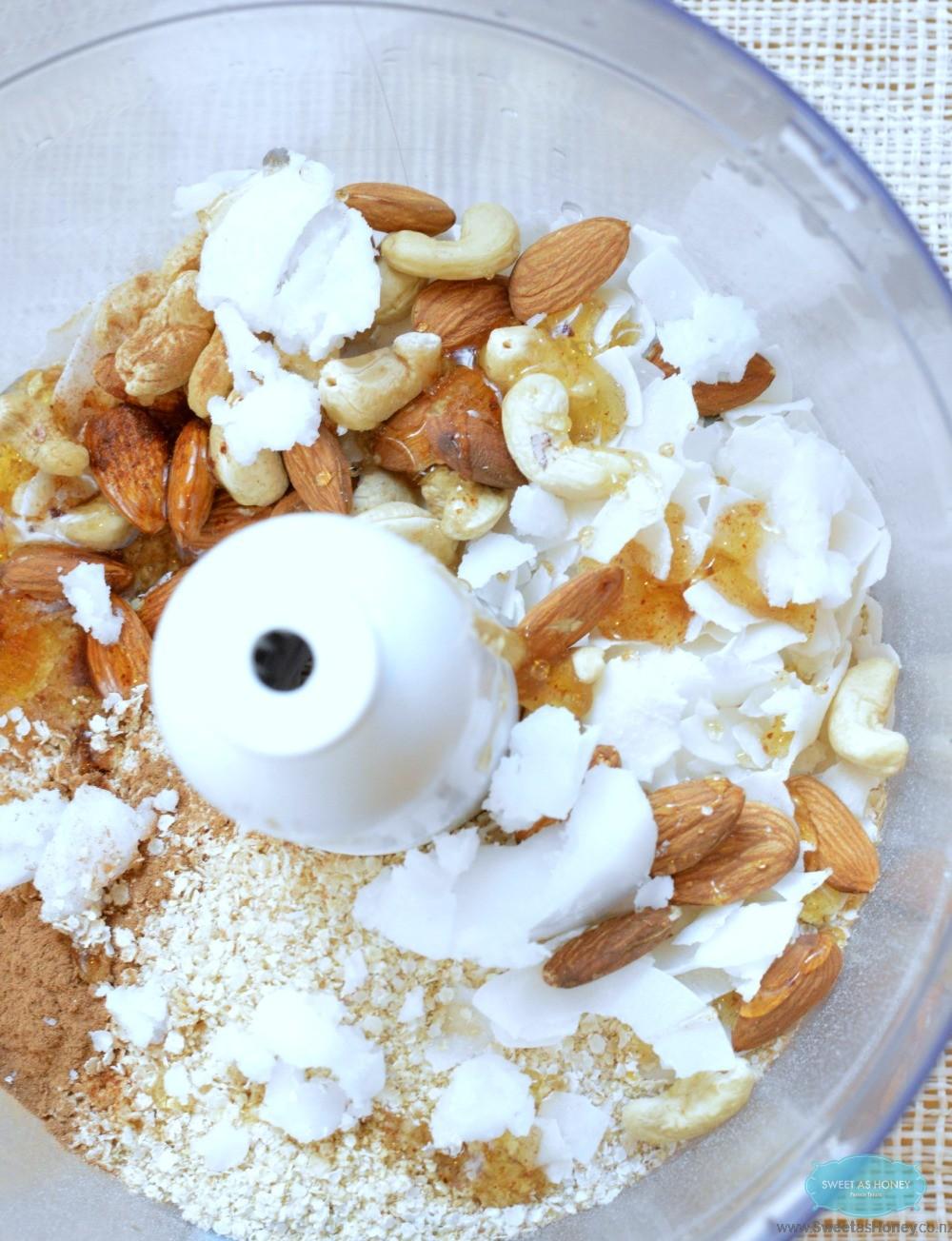 apple quinoa crumble mix