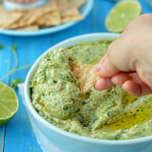 KETO SPINACH AVOCADO DIP #ketodip #ketorecipes #keto #appetizers #avocadodip #avocado