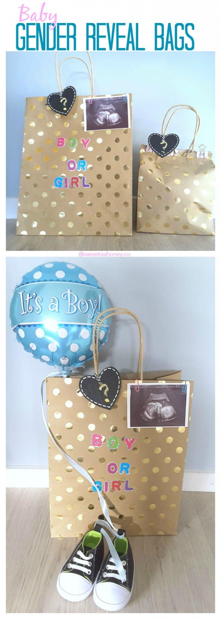 baby gender reveal BAGS