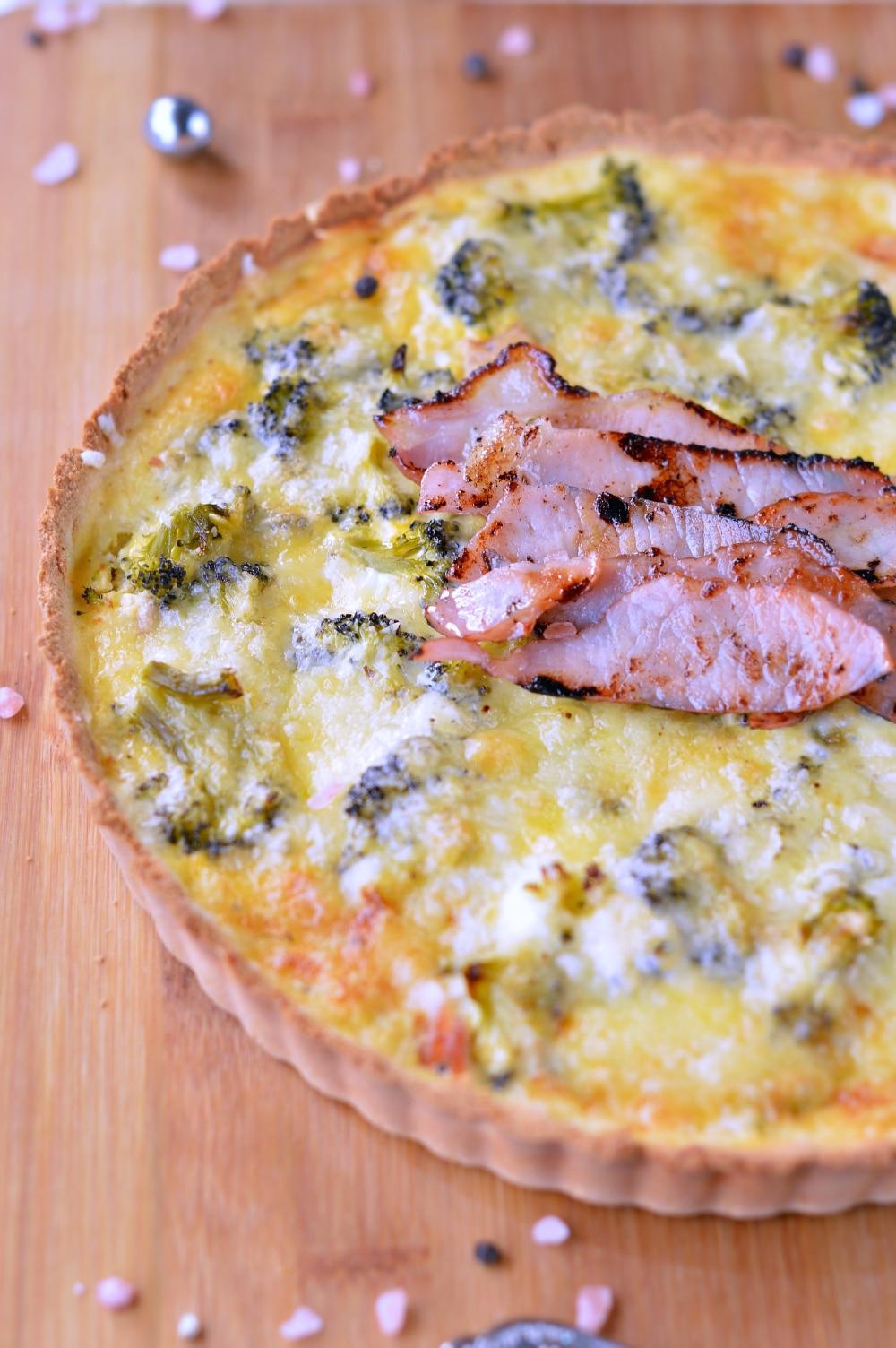 healthy broccoli quiche keto gluten free