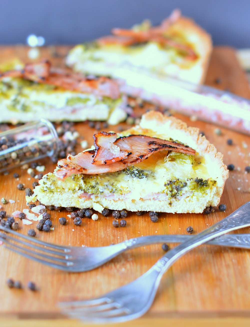 bacon quiche gluten free recipe