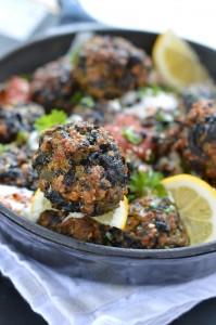 Turkey spinach meatballs