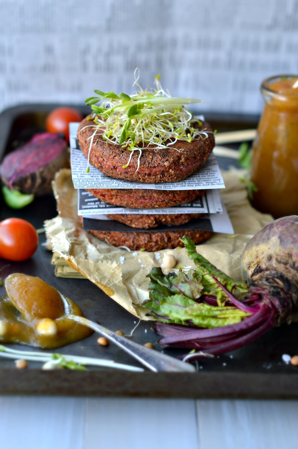burger patties vegan recipe