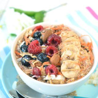 carrot cake overnight oats recipes