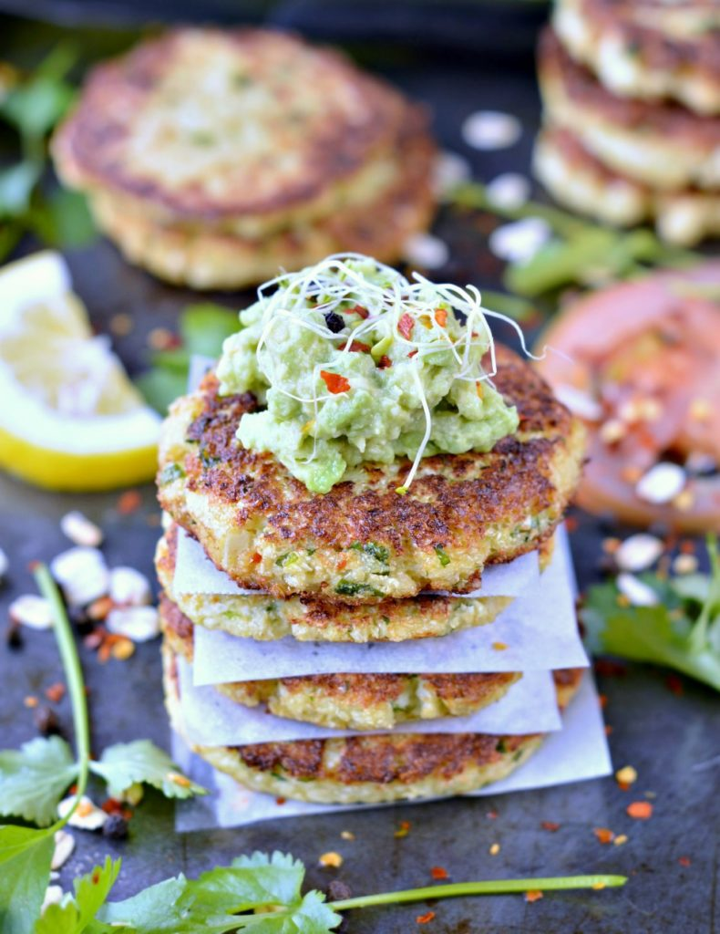 Cauliflower fritters | Simple & healthy 4 Ingredients
