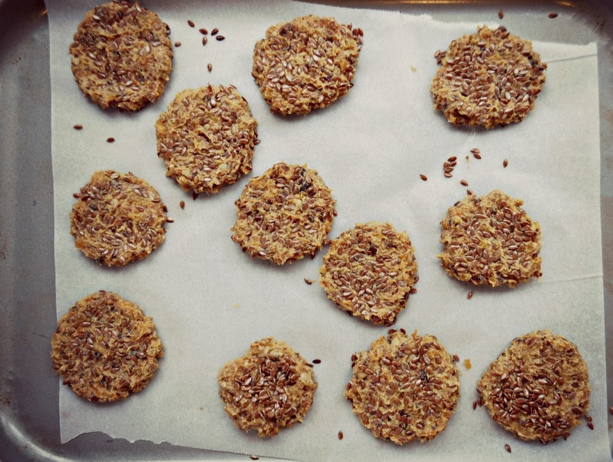 clean cookie before baking